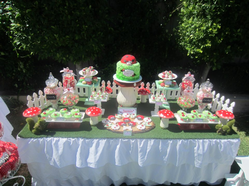 Ladybug Garden Party Outdoor Garden