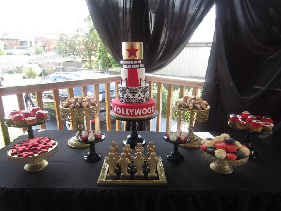 red carpet cake - a star is born!