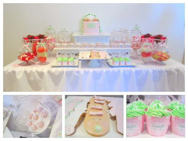 Mint Baby Shower Party