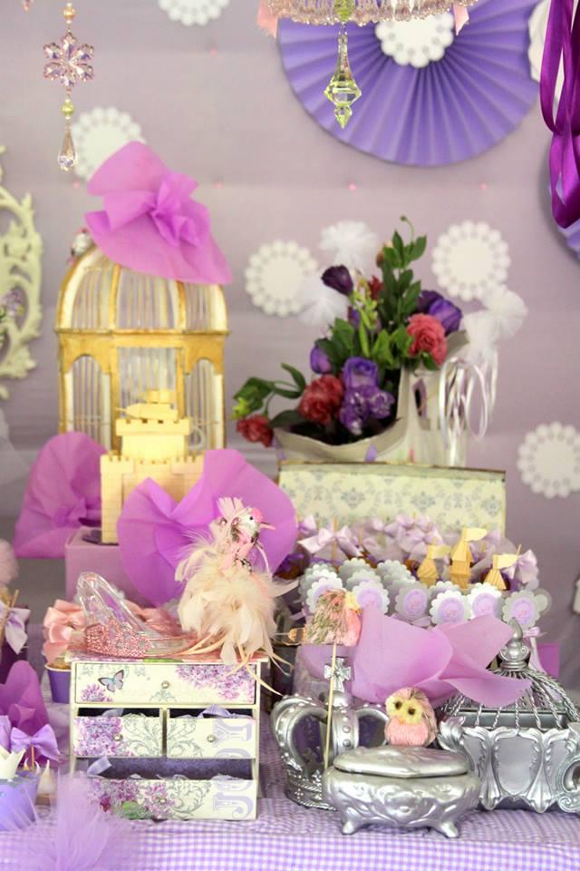 purple princess theme ideas