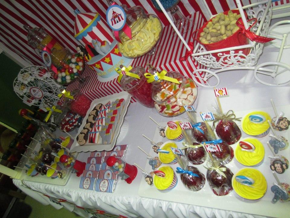 Circus Birthday Party treats