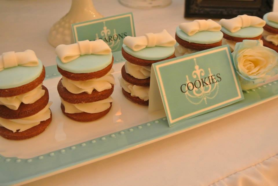 french Tiffany Blue macaroons