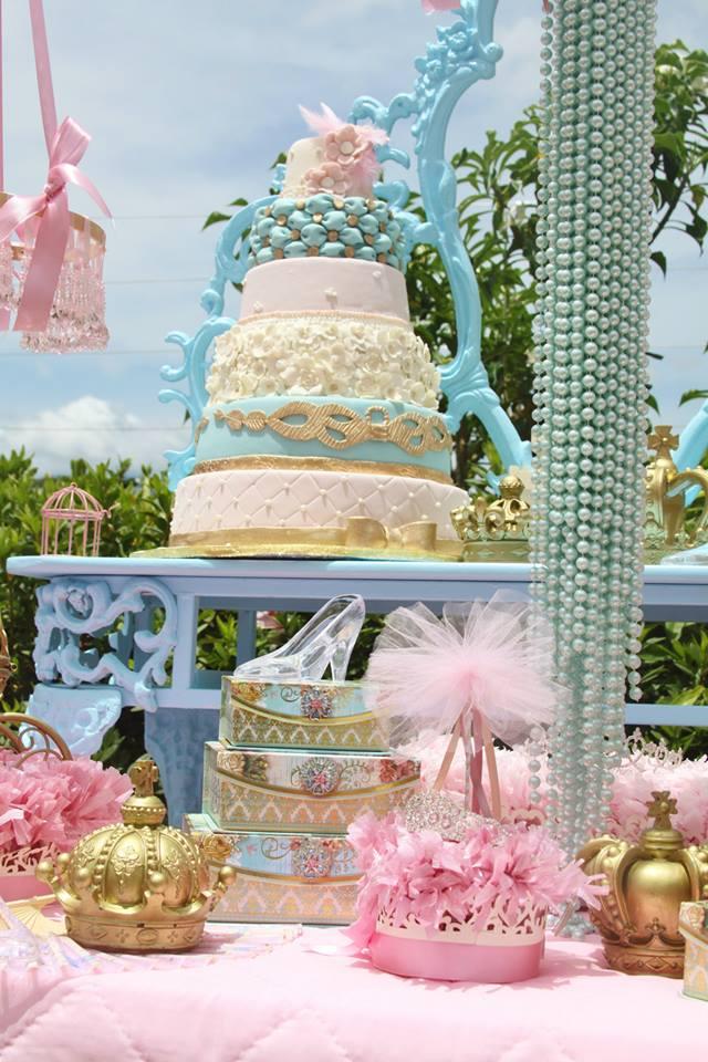 vintage princess party