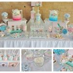 Pink and Blue High Tea Party