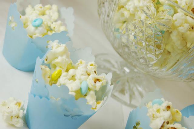 White Chocolate Baby Shower Popcorn Recipes