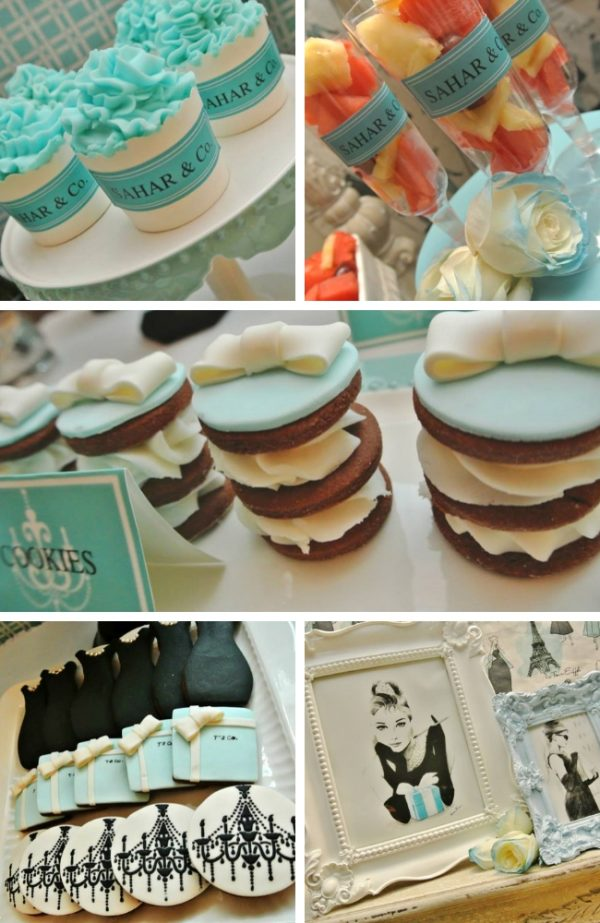 Breakfast at Tiffanys Party Tablescape