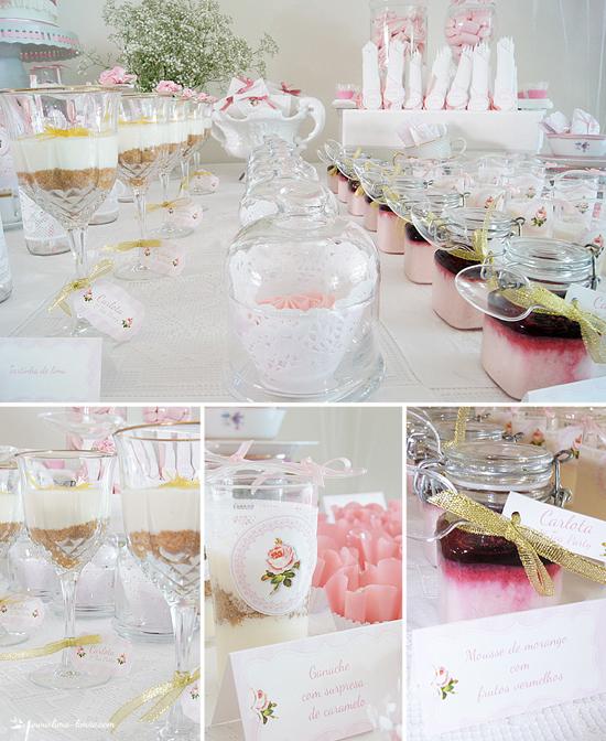 princess dessert table