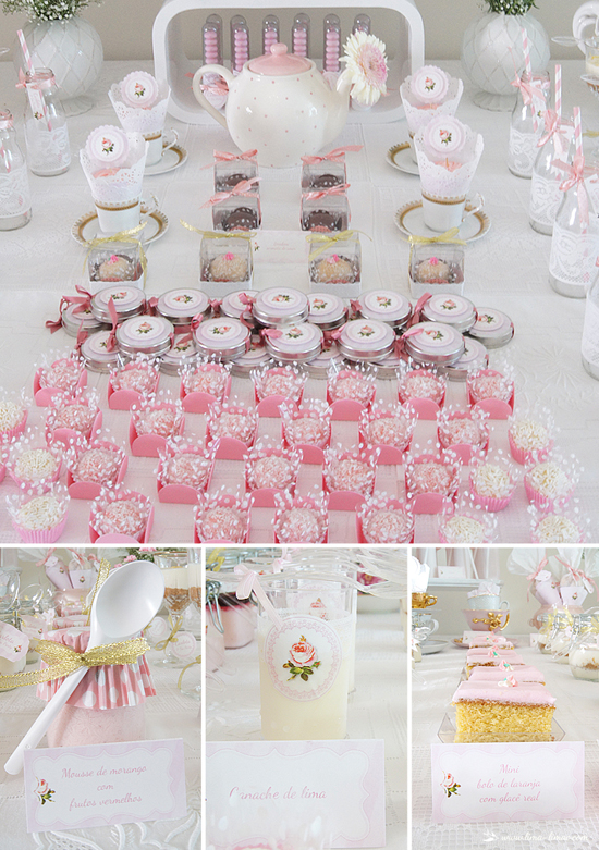 princess tea party baby shower ideas