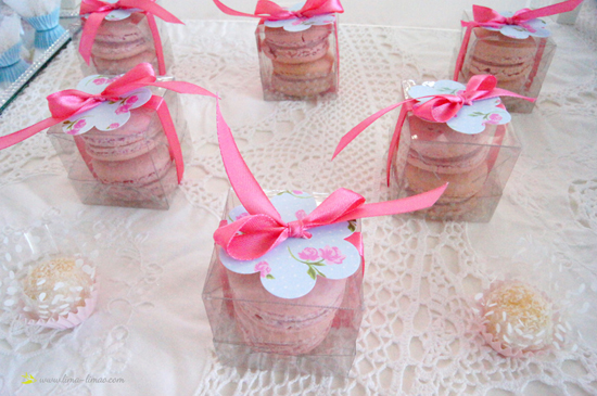 shabby chic favor ideas