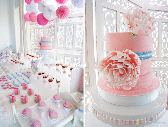 pink baby shower ideas for girls