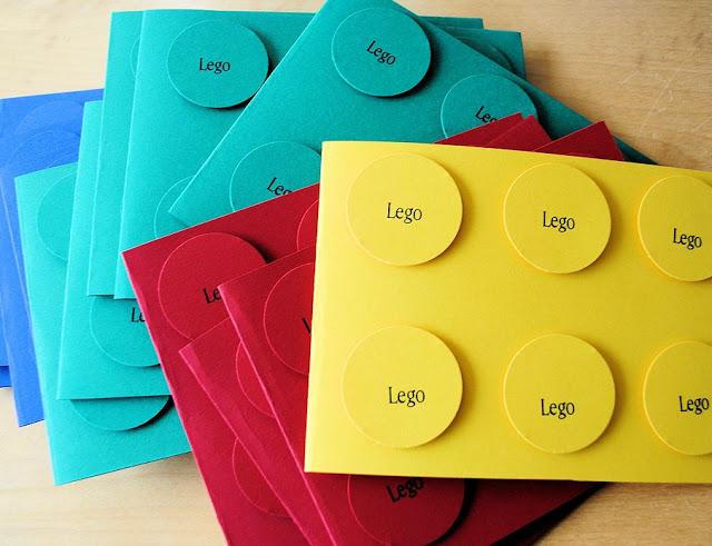 Legoinvitations