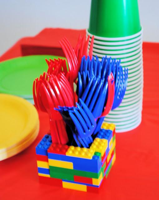 Legopartyholder