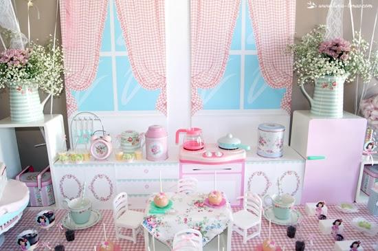 Vintage Kitchen and Tea Party Ideas
