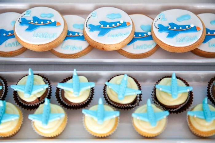 airplane themed baby shower ideas