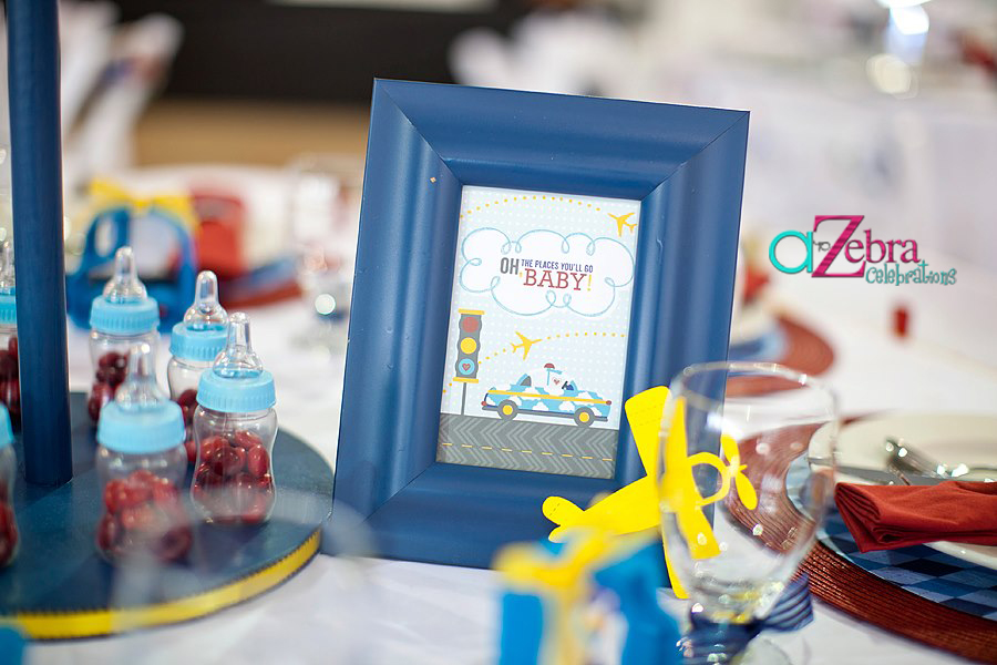 Oh the places you will go baby photo frame sign
