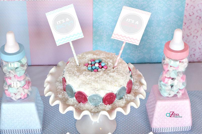 baby-shower-gender-reveal-cake