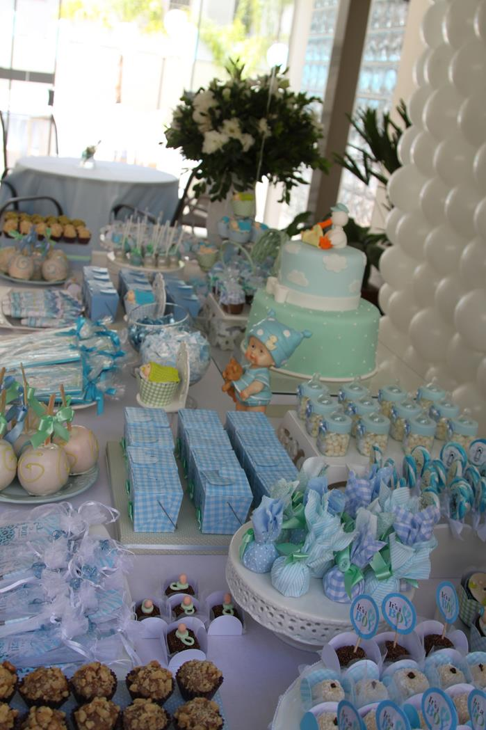 Sweet Little Boy Baby Shower Party Ideas