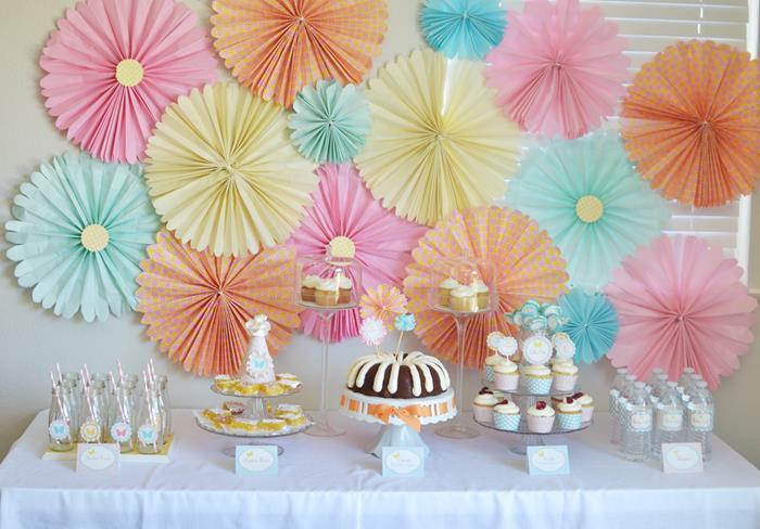 butterfly garden baby shower theme ideas