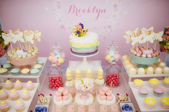 butterfly themed baby shower ideas