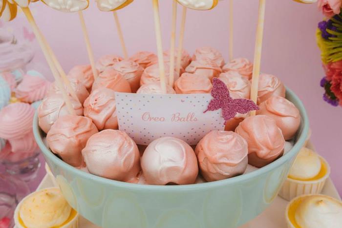 pink oreo balls