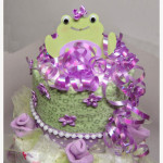 "Diaper Cake & ""Rose"" Flower Pots"