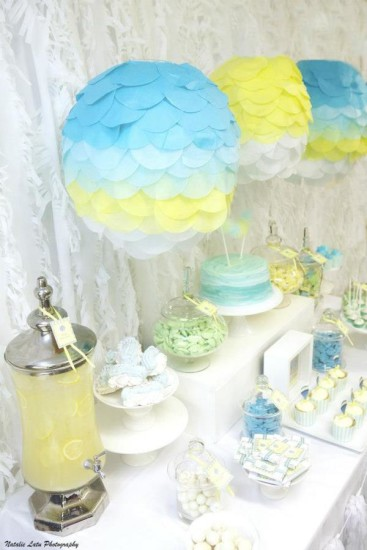 hot air balloon baby shower ideas 13