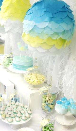 hot air balloon baby shower ideas 4