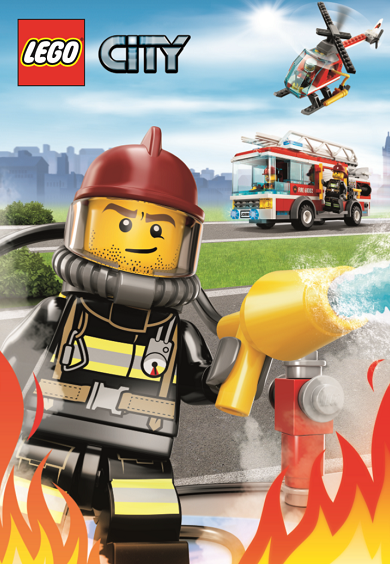 lego fire poster