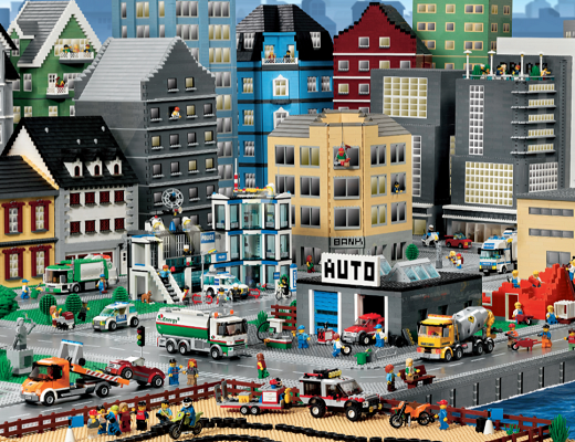 lego poster panorama