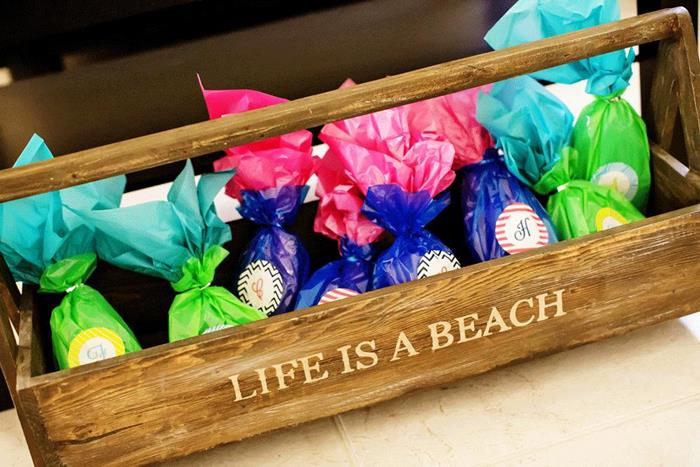 life is a beach favors