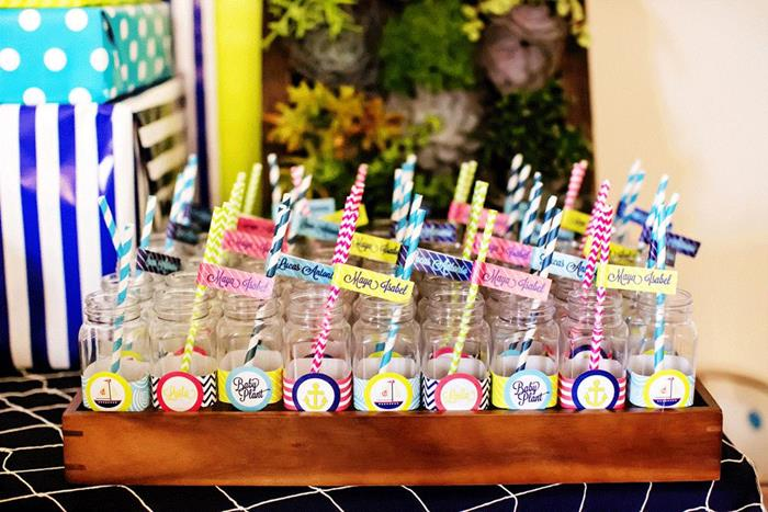 sailing baby shower ideas