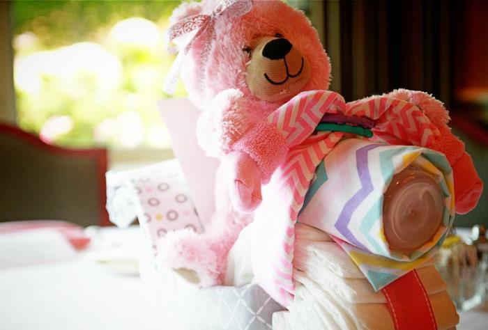 teddy bear diaper motorcycle