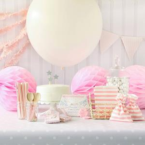 pink baby shower kit