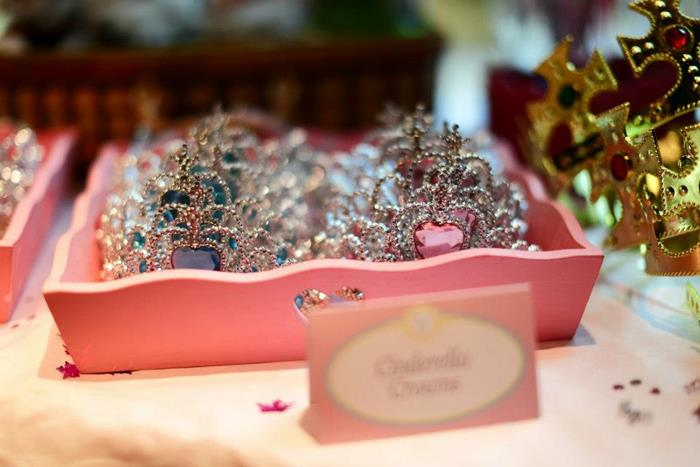Pink Fairytale Princess Party Tiara