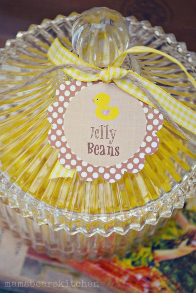 yellow duck jelly beans