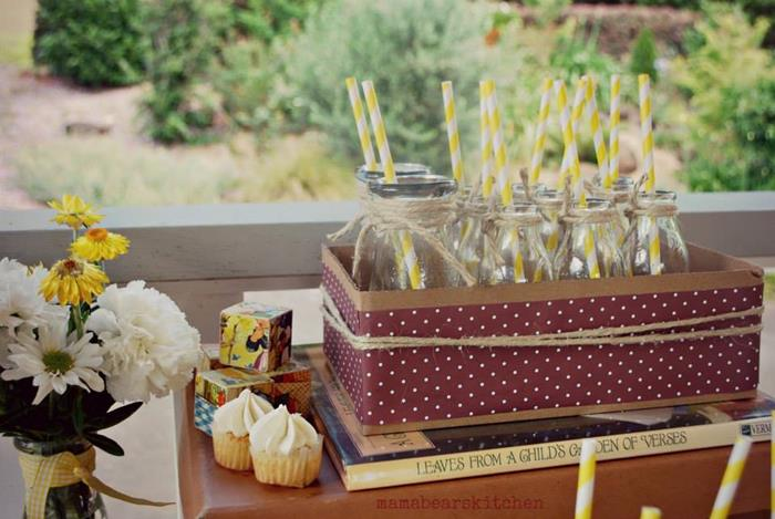 Duck Yellow Vintage Baby Shower