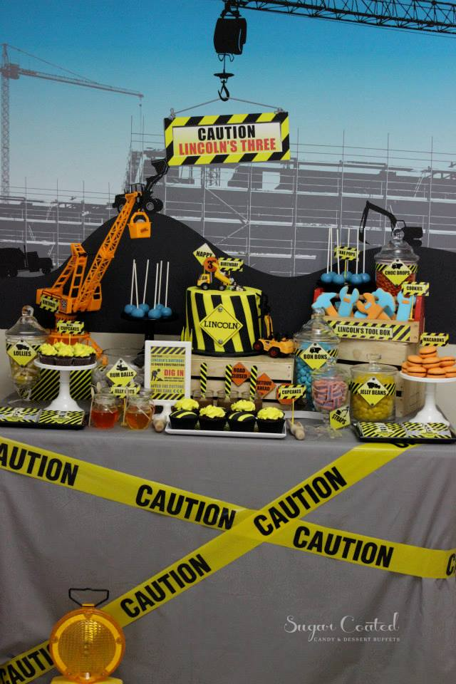 Construction Site Baby Shower Ideas