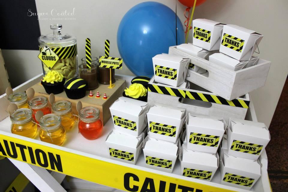 Construction Site Theme Party