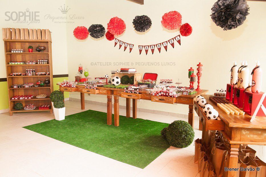 soccer theme baby shower ideas for boys