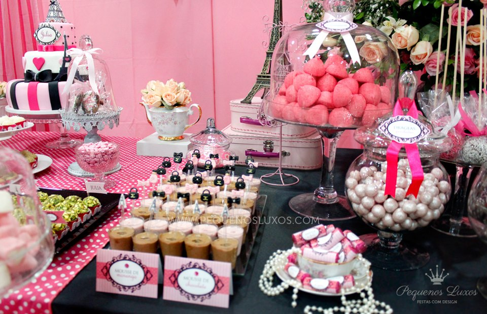 paris baby shower ideas for a girl or a boy