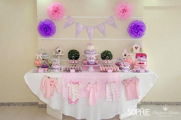 butterfly dessert table