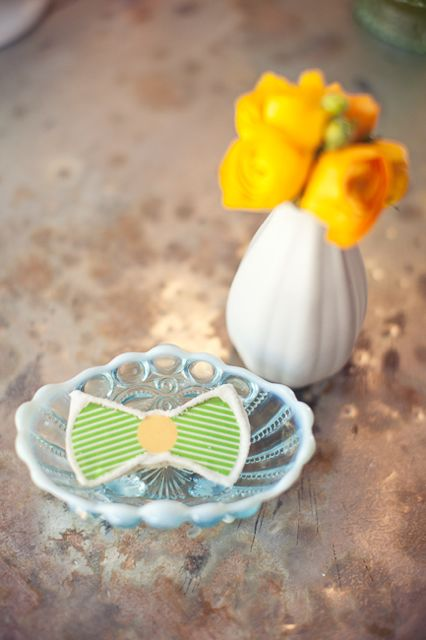 Vintage Bow Tie Themed Baby Shower ideas for boys