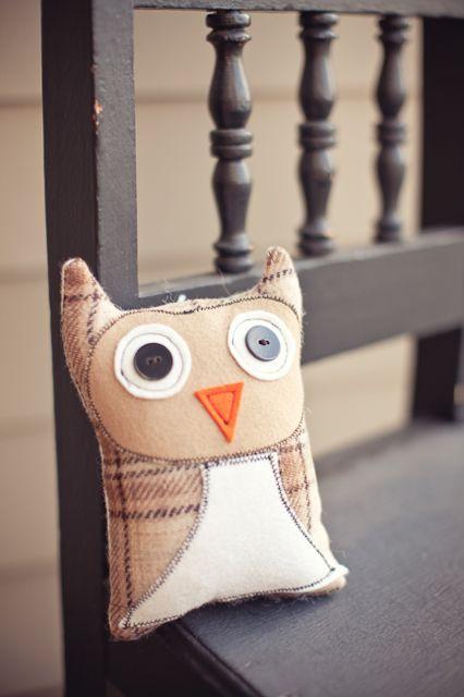 baby owl soft toy