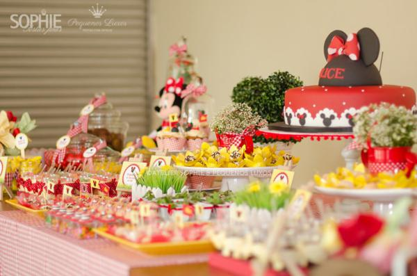 Mickey Mouse & Minnie Mouse baby shower Ideas