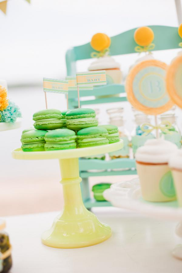 ombre macarons