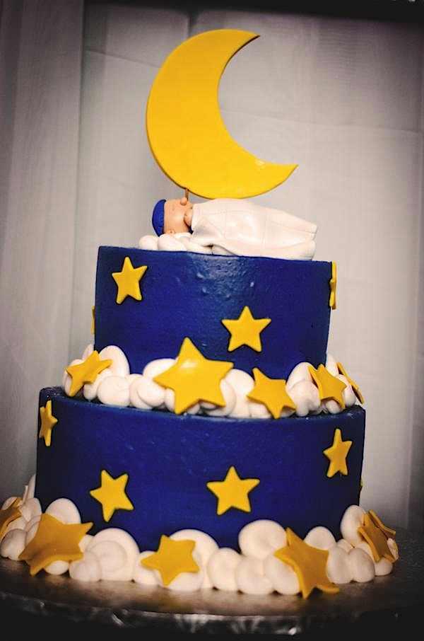 Small Baby Shower Cake