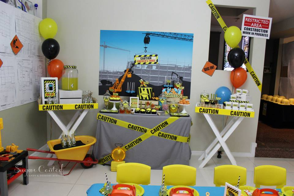 Construction Baby Shower Ideas