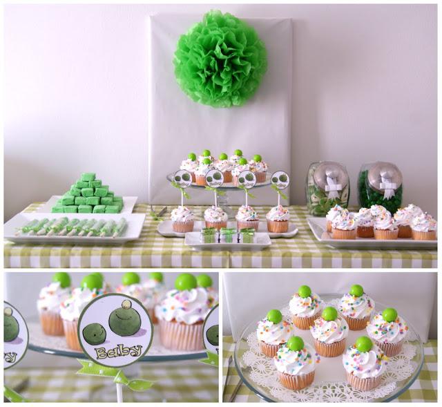 Sweet Baby Pea Baby Shower Themed Party