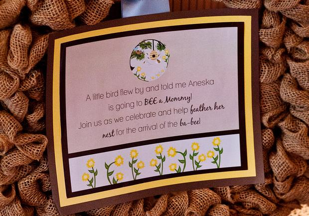 Life Begins with the Birds and the Bees Baby Shower via babyshowerideas4u a little bird