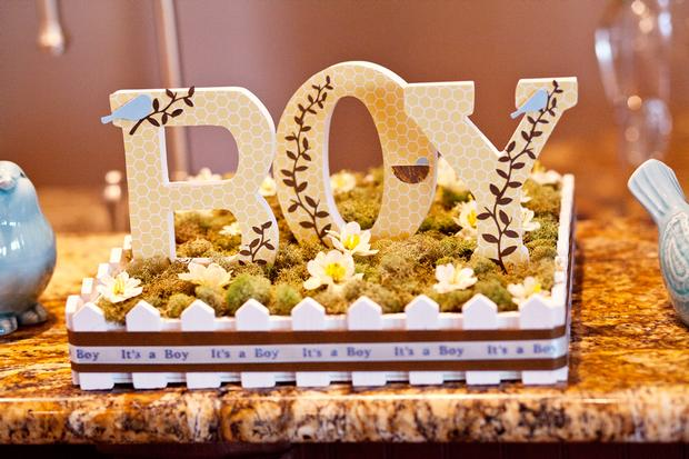 Life Begins with the Birds and the Bees Baby Shower via babyshowerideas4u it's a boy